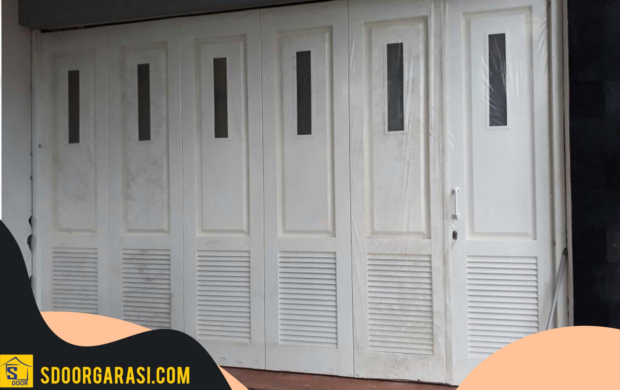project selesai jasa pintu garasi besi