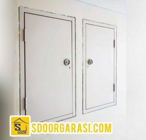 pintu besi shaft merk S door
