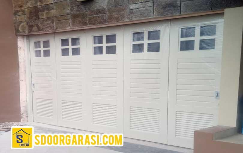 project jasa pemasangan garasi pakuwon surabaya