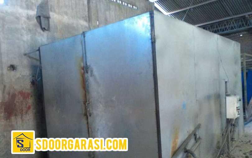 tempat proses powder coating pintu sdoor