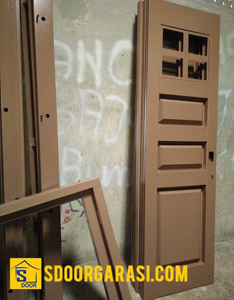 Jasa Pintu Besi Garasi Mojokerto dan Kediri Ukuran Custom