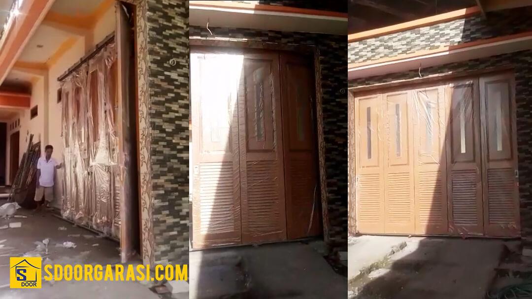 Jasa Pintu Garasi Sistem Tikung Sidoarjo dan Malang