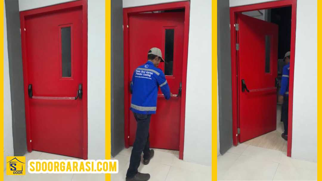 Jasa Pintu Emergency Panic Bar