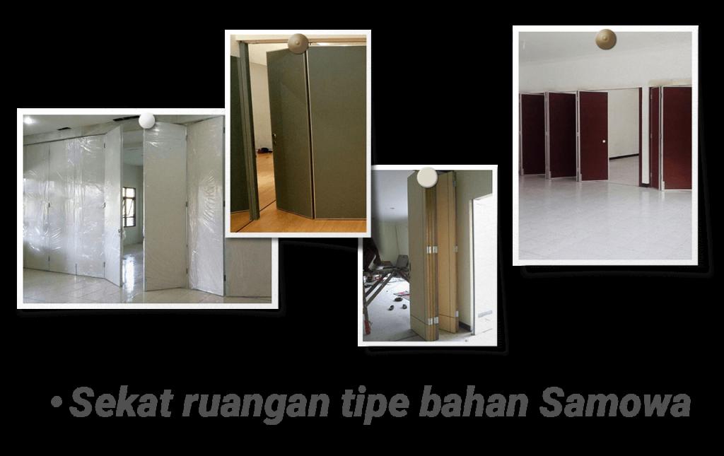 Jasa Sekat Ruangan menggunakan bahan Samowa cocok Kantor, Gedung, dan Hotel