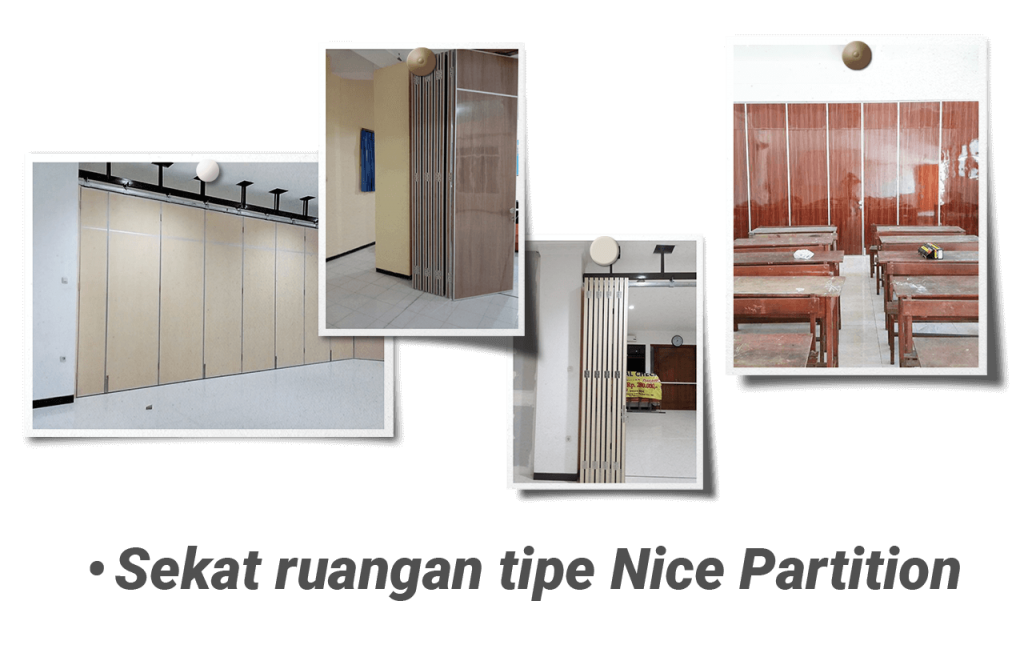 Jasa Partisi Ruangan menggunakan Nice Partition cocok Kantor, Gedung dan Sekolah